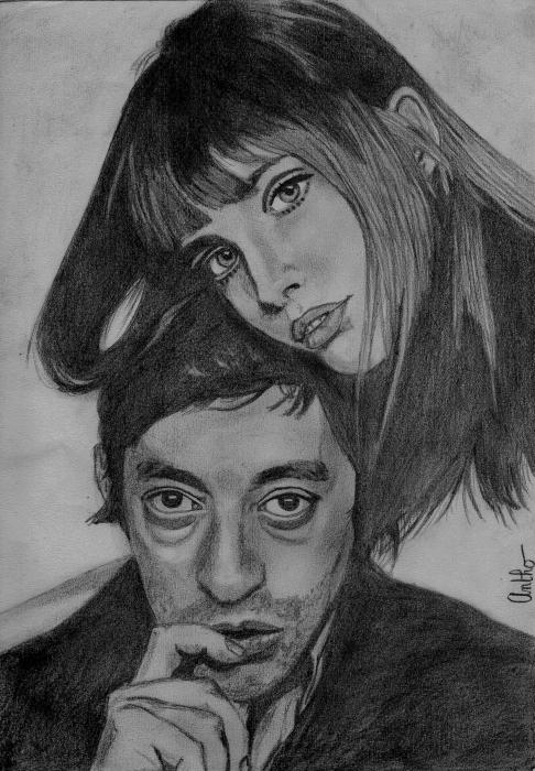 Serge Gainsbourg by Antho